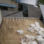 屋根瓦葺き替え例1